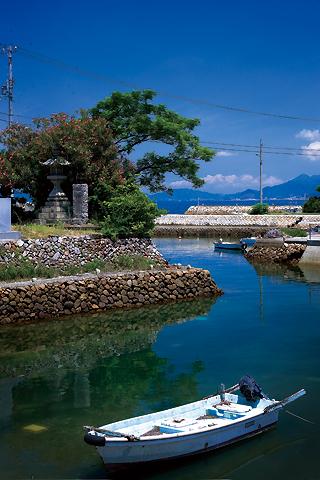 箕浦漁港(香川)の写真画像