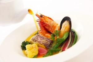 メイン魚料理